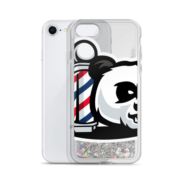 The Barbershop Liquid Glitter Phone Case