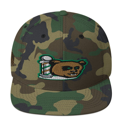 The Barbershop Salute To Service Snapback Hat