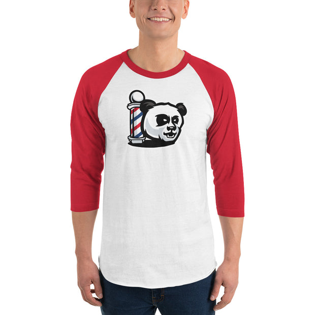 The Barbershop Batting Practice 3/4 sleeve raglan shirt
