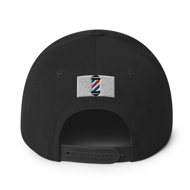 The Barbershop Cavs Throwback Snapback Hat