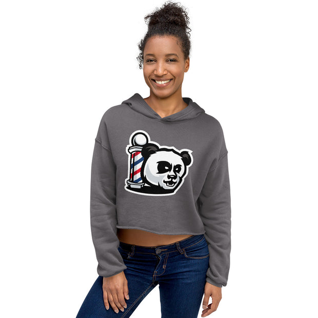 The Barbershop Crop Top Hoodie