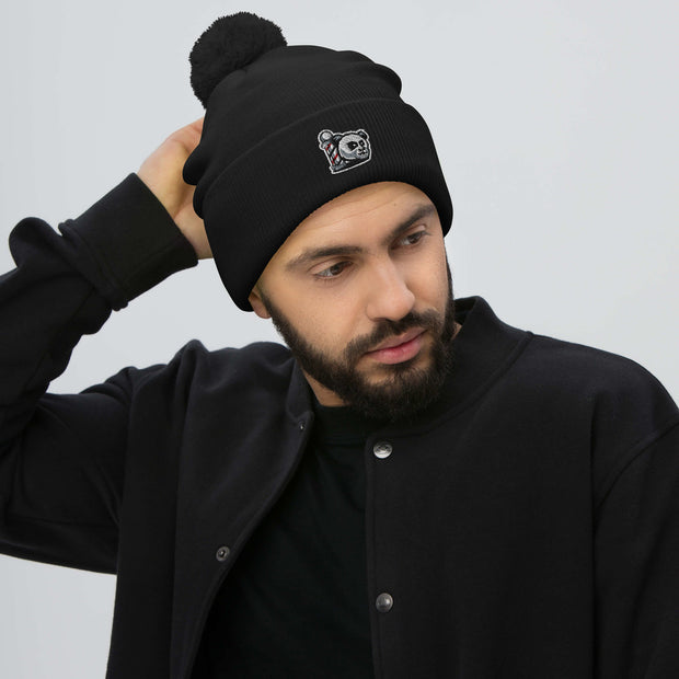 The Barbershop Pom-Pom Beanie