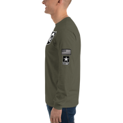 The Barbershop US Army Salute To Service Long Sleeve T-Shirt