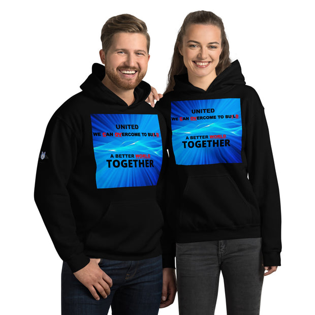 "BARBERSHOP ""CHANGE THE WORLD TOGETHER"" Unisex Hoodie"