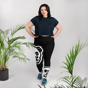 The Barbershop Plus Size Leggings