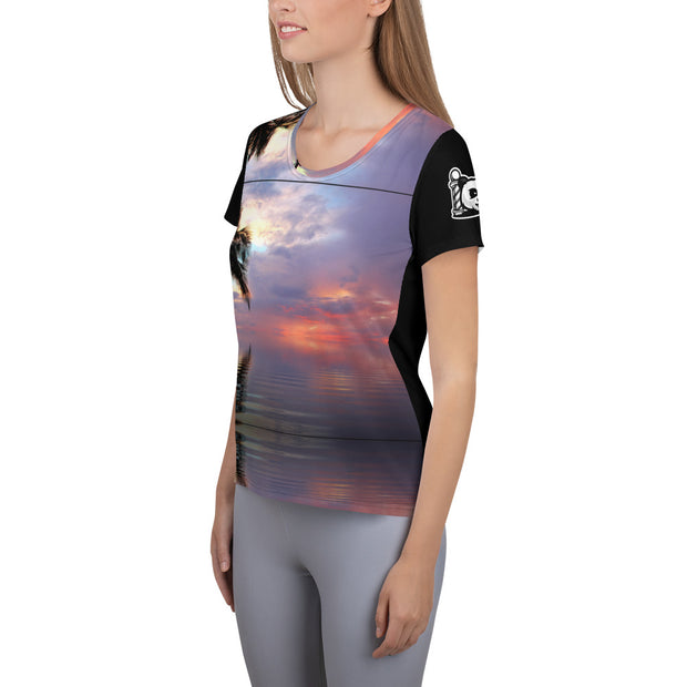 Women's Sunset Athletic T-shirt