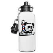 The Barbershop Water Bottle - white