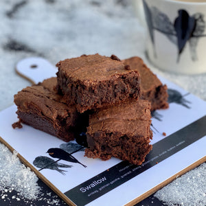 Sourdough chocolate brownies