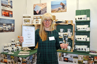 Sandra Vick was the ACID post newcomers award winner at the British Craft Trade Fair 2019