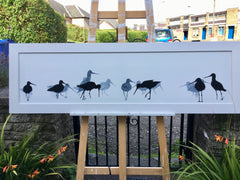 godwits painting