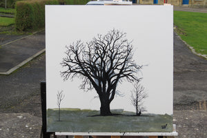 PAINTING: generations come and go tree