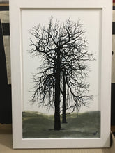 Load image into Gallery viewer, PAINTING: beech tree, Dawyck 50x90cm