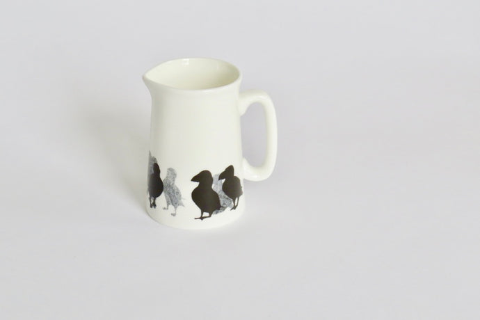 JUG: PUFFIN bone china jug - SMALL