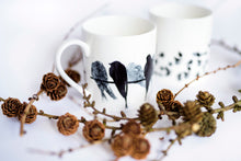 Load image into Gallery viewer, PINT MUG: SWALLOW bone china