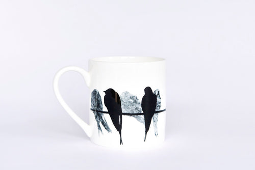 swallow pint bone china mug