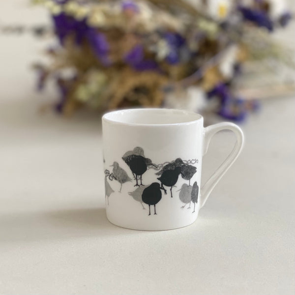 ESPRESSO CUP: REDSHANK bone china