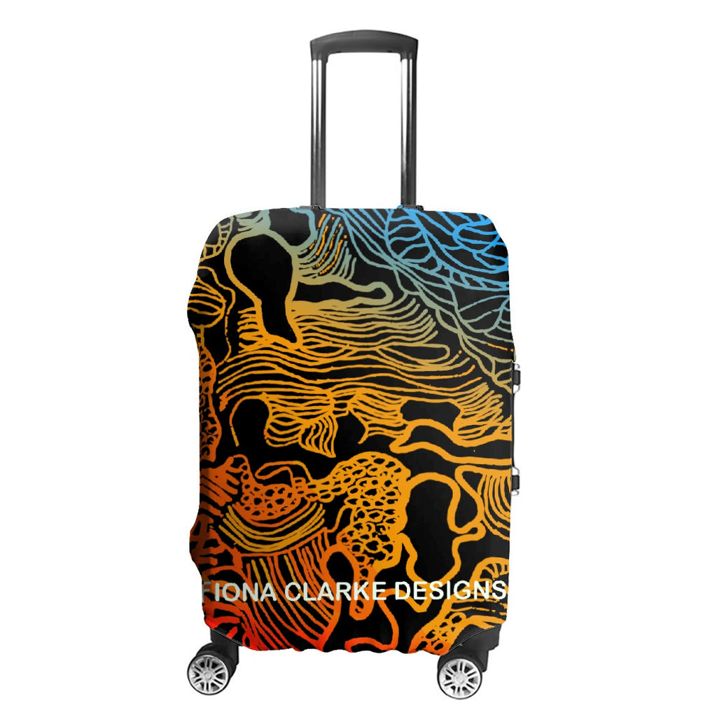 My Country Luggage Cover 2