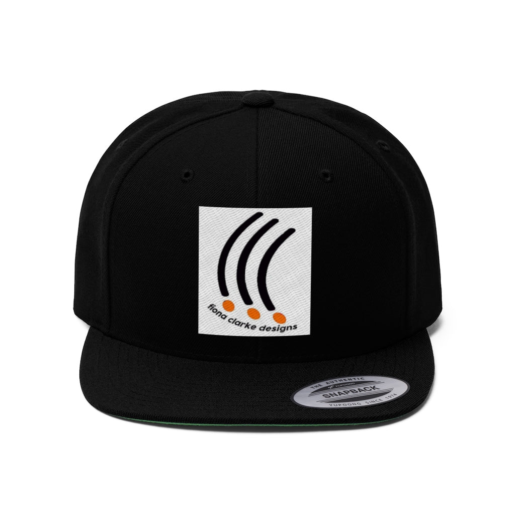 FCD Cap Orange and Black