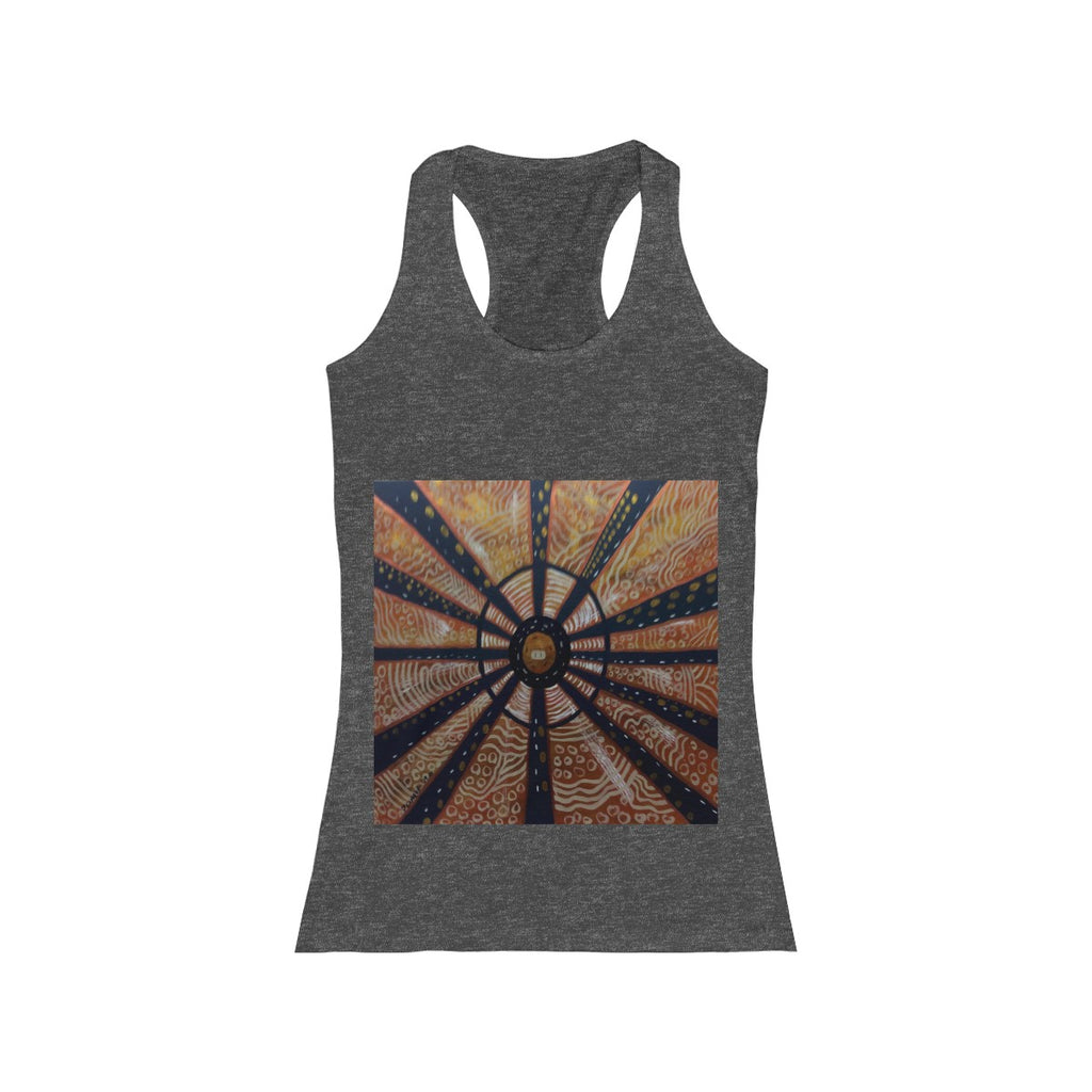 Women's Racerback Tank Paris Painting