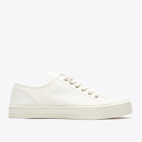 Military Low Top - White