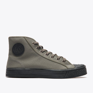 Military High Top - Slate Grey