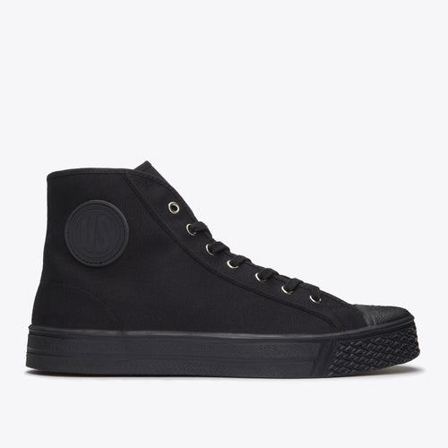 Military High Top - Black