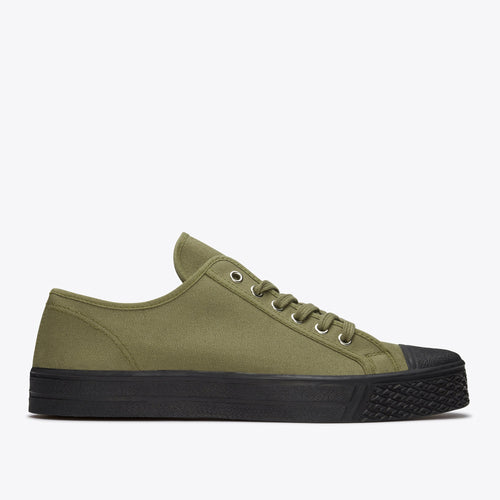 Military Low Top - Military Green