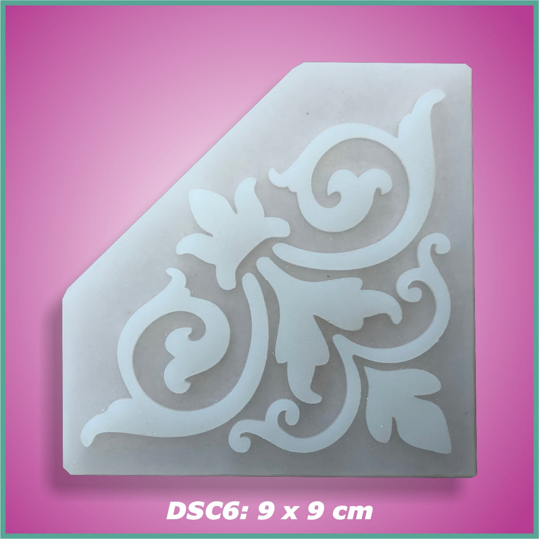 Shape-it Decor Stamp Corner #6