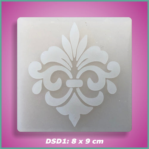 Shape-it Decor Stamp Damask #1