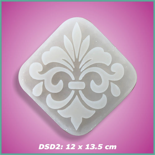 Shape-it Decor Stamp Damask #2