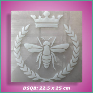 Shape-it Decor Stamp Queen Bee