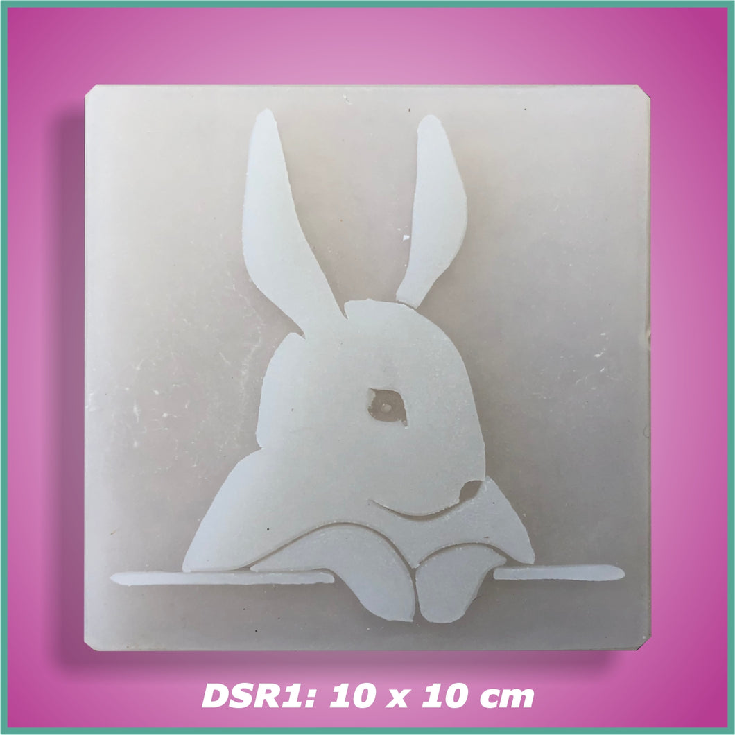 Shape-it Decor Stamp Rabbit #1