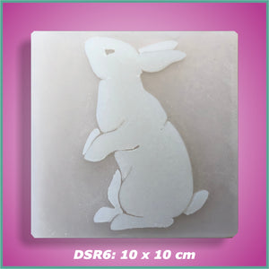 Shape-it Decor Stamp Rabbit #6