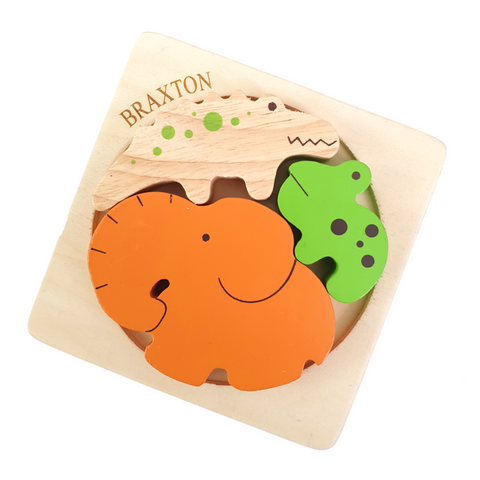 personalised wooden puzzles