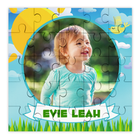 Personalised Photo Sunshine Puzzle