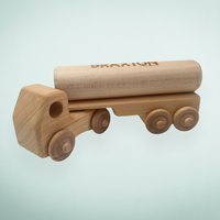 Premium Personalised Wooden Log Truck