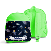 PERSONALISED SMALL KIDS BACKPACK - SPACE