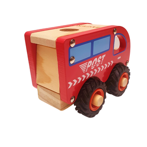 Personalised Wooden Post Truck Van