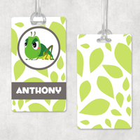 Personalised Insect Bag Tags