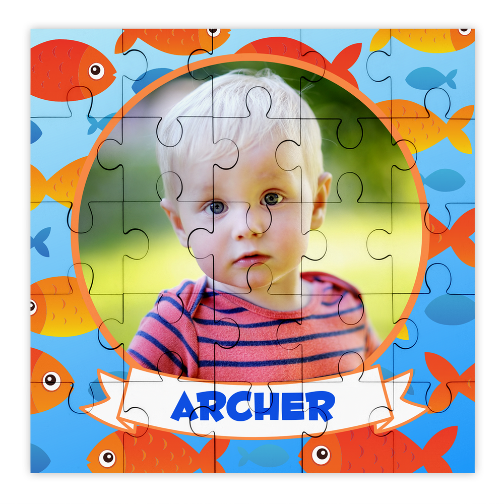 Personalised Photo Fish Puzzle