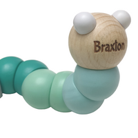 Personalised Wooden Worm