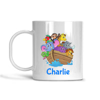 PERSONALISED NOAH'S ARK MUG