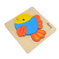 Personalised Fish Puzzle
