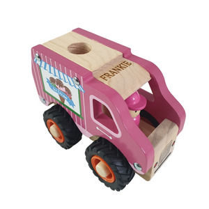 Personalised Wooden Icecream Truck
