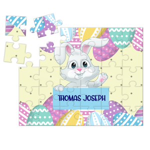 Wooden Name Puzzles - Easter Bunny