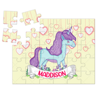 Wooden Name Puzzles - Unicorn