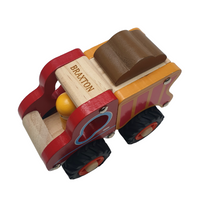 Personalised Wooden Lorry Truck