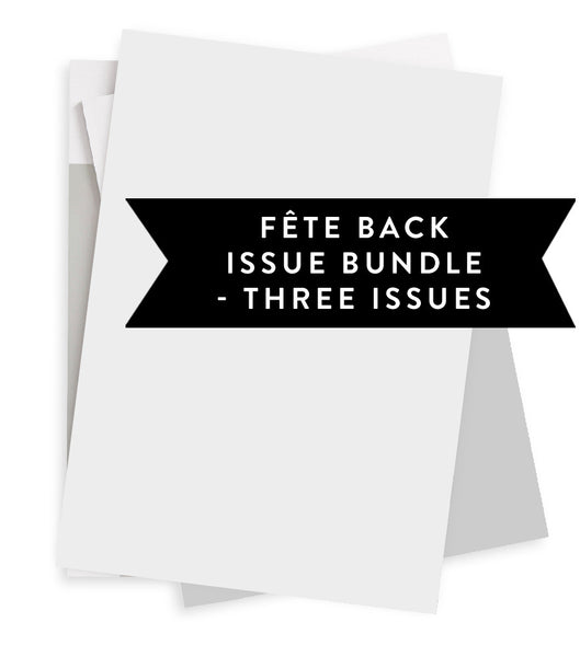 Special Back Issue Bundle - Three Issues