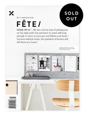 Fête Issue No.12