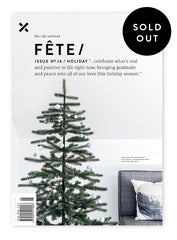 Fête Issue No.14/Holiday - Sold Out Online